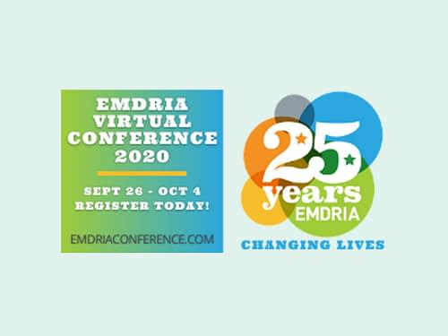 EMDRIA offers discount for attending 2020 Virtual Conference